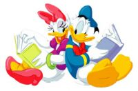 Donald & Daisy Reading