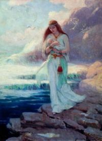 """A Viking Mother"" by Frank Leonard Stick, American (Iowa), 1884-1966"