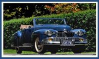1948 Lincoln Continental 2 Dr Convertible