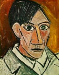 Self Portrait (Autoportrait)_Picasso, 1907