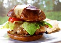 Creole Honey Mustard Chicken Sandwich - plainchicken