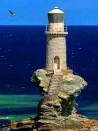 Tourlitis Lighthouse - Greece