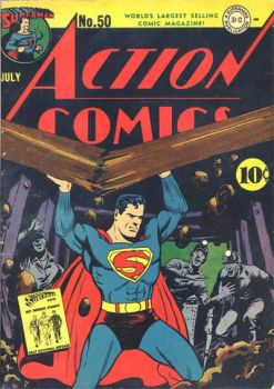 ACTION COMICS #50 (JULY 1942)