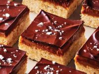 chocolate peanut butter caramel bars.