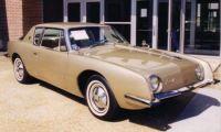 1963 Studebaker Avanti gold front