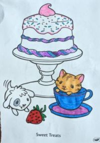 Drawing by: Dave's great niece