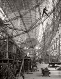Construction of the 'Graf Zeppelin', Zeppelin Werke, 1928