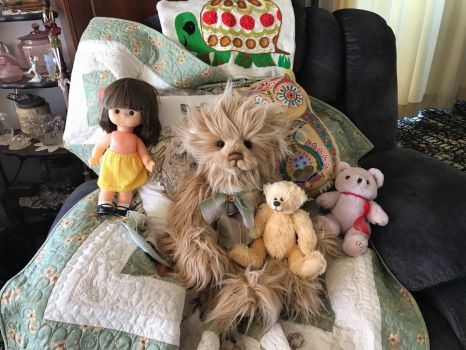 Charley Bear and friends