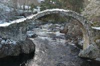 Bridge over the River Dulnain, Scotland