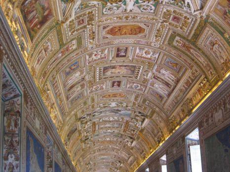 Vatican Museum map room