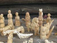 Russian Wooden Figures