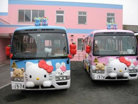 School bus on Japan..3