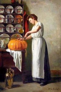 """Cutting the Pumpkin"""