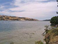 Lake San Antonio In The California Coast Range Near Lockwood, California