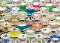 Colorful Teacups
