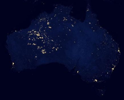 Austalia fires from space