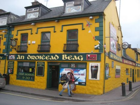 Pub in Dingle, Ireland