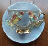 Rooster Tea Cup