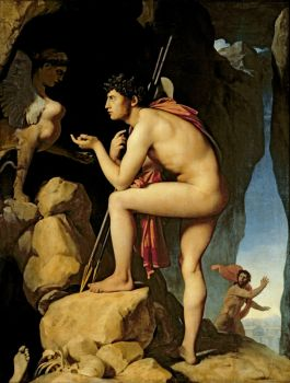 Jean Auguste Dominique Ingres, Oedipus and the Sphinx (1808–1827)