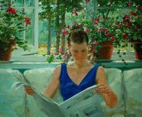 David Hettinger - Girl Reading