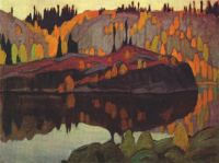 Coldwell Bay, Lake Superior by Lawren Harris