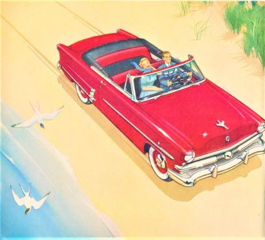 Themes Vintage illustrations/pictures - Ford 1953