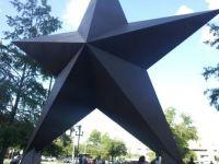 Lone Star sculpture ~~ Austin, TX, USA