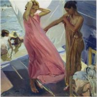 After the Bath, Valencia, 1916  JOAQUIN SOROLLA