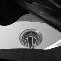 Space Needle From the Museum of Pop Culture