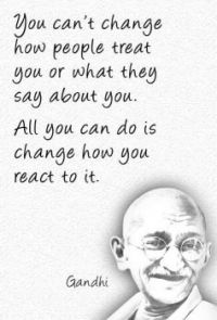 """3  ~  """"You can't change how people...."""""""