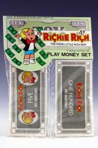 Richie Rich Play Money Set