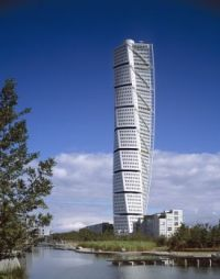 Turning Torso in Malmö. Sweden