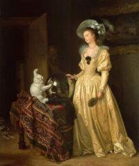 """Le chat angora"" (""The Angora Cat"") (c. 1783)"
