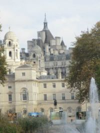 Whitehall from St James Park