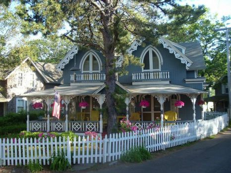Gingerbread Cottage Martha's Vineyard