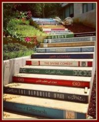 Stairway to Knowledge at Balamand University Library, Northern District of El-Koura, Lebanon