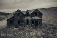 Hillside spooky /  Canadian ghost town