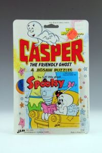 Casper Spooky in chair puzzle