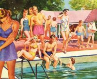 Pool Party 1946