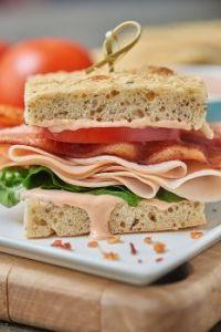 Turkey Bacon Sammy