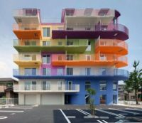 Colorful building D