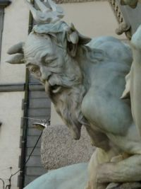 Power of the Sea sculpture, Hofburg Palace, Vienna