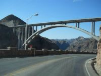 new bridge at Hoover Dam, AZ/UT