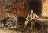 John Frederick Lewis (British, 1805–1876), A Highland Crofter