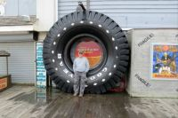 This Salty Old Kansan Built More Than 1,000 Of These Tires In A 40 Year Career At The Goodyear Plant In Topeka, Kansas