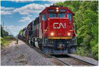 CN # 5400 Pulling Through