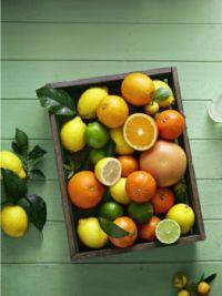 Vitamin C in a crate