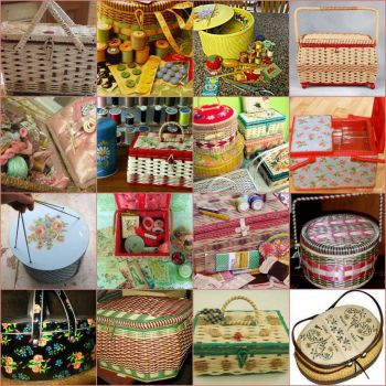 Sewing baskets - small