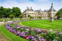The Luxembourg Palace in Luxembourg Gardens, Paris