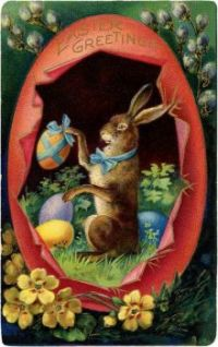 Victorian Easter Bunny